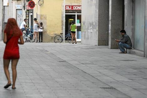 prostitutas callejeras barcelona prostituirse
