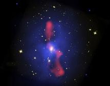 Rayos X y chorros en MS0735  Chandra