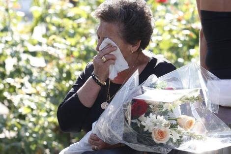 Imagen de archivo de una de los afectados por el accidente de Spanair. | Efe
