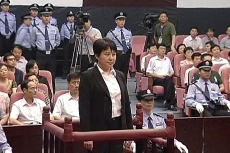 Gu Kailai durante el juicio| Reuters