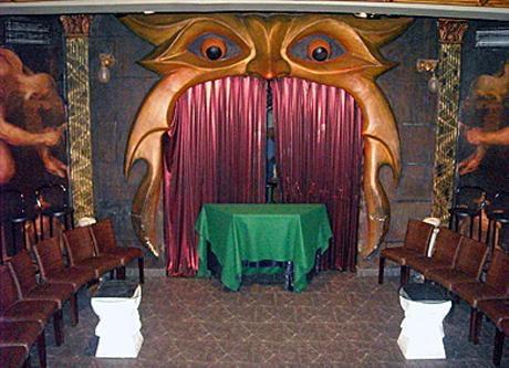 Interior de la Sala Houdini