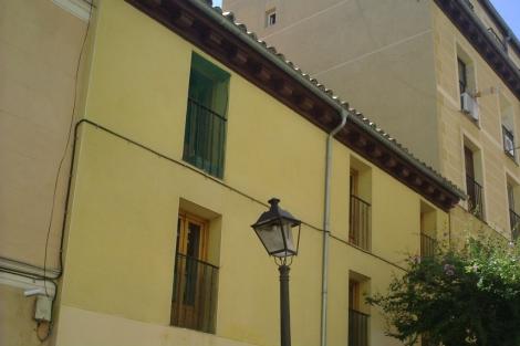 Imagen del edificio que se convertirá en hotel. | Ayuntamiento de Madrid.