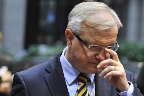 Olli Rehn, vicepresidente de la Comisión Europea. | E.M.