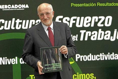 El presidente de Mercadona, Juan Roig, en una imagen de archivo | J. Cuéllar.
