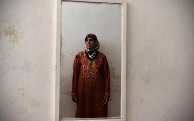 Fatima Zahra en su casa cerca de Alepo. MÁS IMÁGENES   Afp