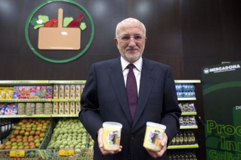 El presidente de Mercadona, Juan Roig. | Benito Pajares