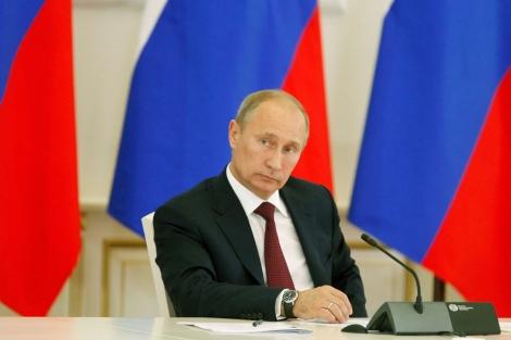 El presidente ruso, Vladimir Putin, en Moscú. | Afp