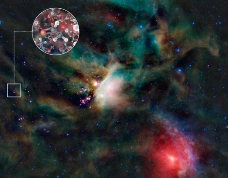 Molecula de azúcar detectada por el telescopio ALMA. | ESO
