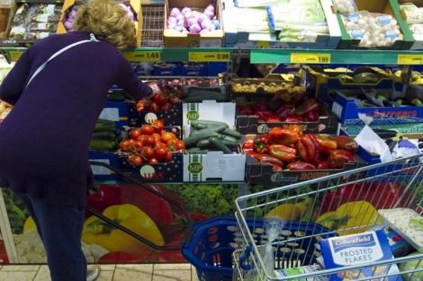 Supermercado de Lidl.   Begoña Rivas