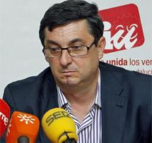 José Luis Centella. | Efe