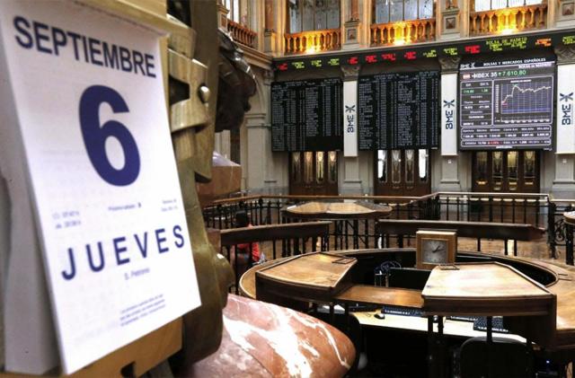 Vista de la Bolsa de Madrid. | Efe