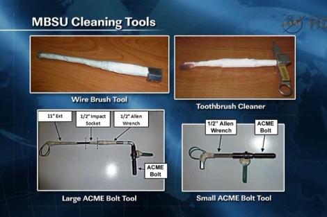 Las 'herramientas' utilizadas por los astronautas. | NASA