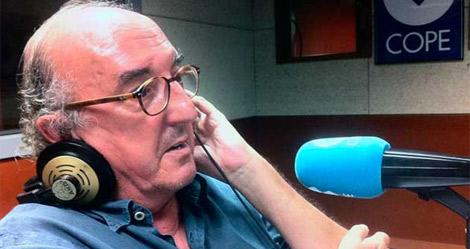 Roures, durante su entrevista en 'El partido de las 12'.   Cope