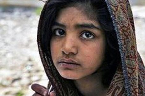 Fotografía de Rimsha Masih publicada por una ONG.