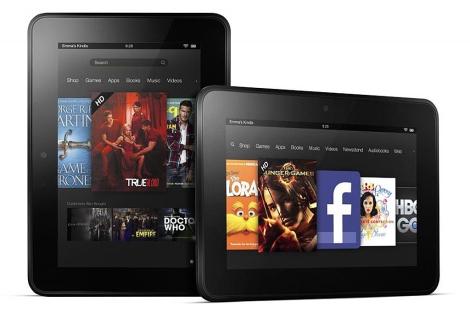 Imagen del Kindle Fire HD.