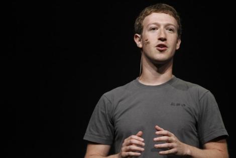 Mark Zuckerberg.   Foto: Afp