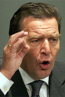El ex canciller Gerhard Schröder. | Efe