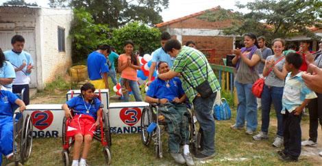 Francisco Javier Carril, de Ayuda en Acción, en Bolivia.