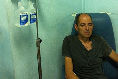 Ángel Vadillo, durante un ingreso el pasado 21 de agosto.   Efe