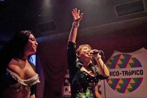 La cantante peruana Janet Chang que actuará en esta edición.| Chico Trópico