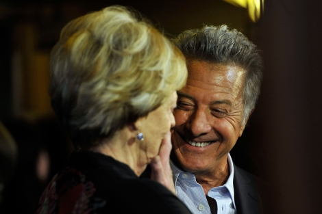 Dustin Hoffman en la premier de 'Quartet' en el Festival de Toronto.|Jag Gandu