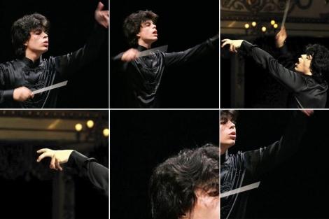 Andrea Battistoni, en La Scala de Milán, en marzo pasado.   ELMUNDO.es
