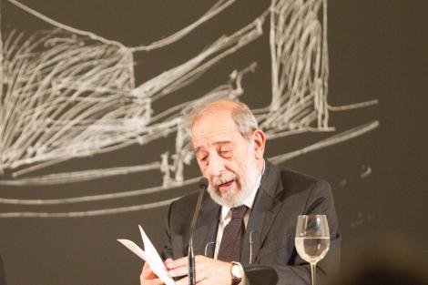 Álvaro Siza, durante una de sus últimas conferencias en España. | E. M.