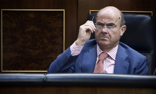 El ministro de Economía, Luis de Guindos.   Alberto di Lolli