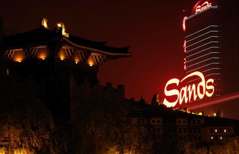 Vista del casino y hotel The Sands, en Macao. | Reuters