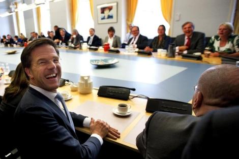 El líder liberal y actual primer ministro de Holanda , Mark Rutte. | Efe