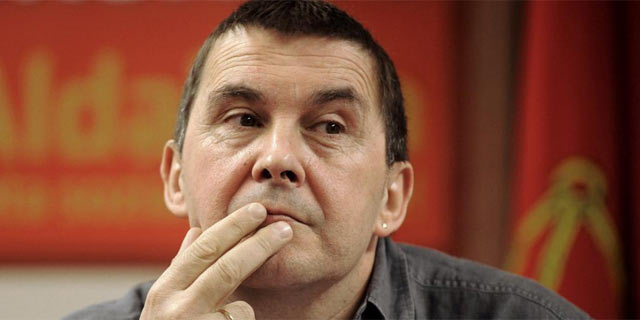 El ex portavoz de Batasuna, Arnaldo Otegi.