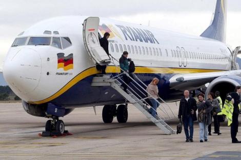 Avión de Ryanair. | Eddy Kelele