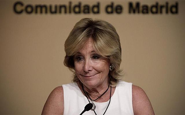 Esperanza Aguirre anuncia que deja la política activa. | Alberto Di Lolli
