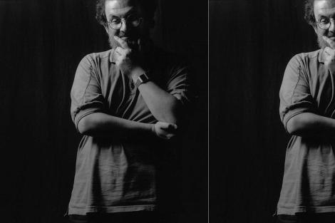 Salman Rushdie, fotografiado en 1996. | José Ayma