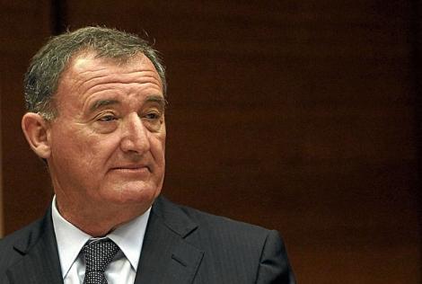 Juan Ramón Avilés, durante la comision de la CAM en las Cortes. | José Cuéllar