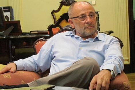 El alcalde de Ourense, Francisco Rodríguez. | Europa Press