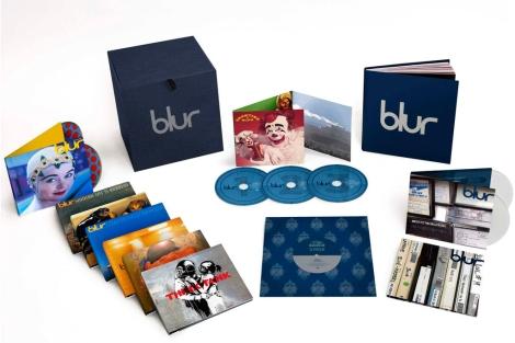 Toda la discografía de Blur en EMI, reunida en una caja.