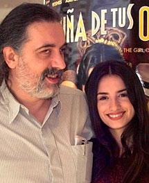 Trueba y Cruz, promocionando 'La niña de tus ojos'.