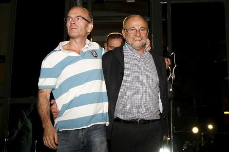 Francisco Rodríguez, sale de los juzgados tras quedar en libertad. | Efe