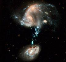 Fenómenos de marea en Arp 194 | NASA