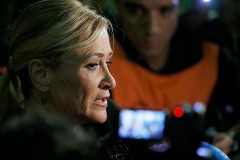 La delegada del Gobierno en Madrid, Cristina Cifuentes. | Juanjo Martín (Efe).