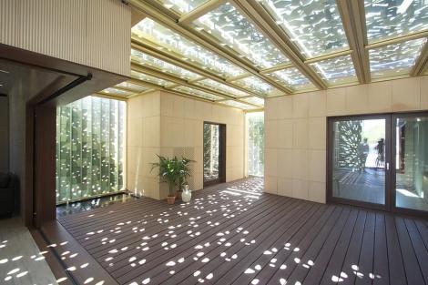 Interior de la casa Patio2.12.   Solar Decathlon
