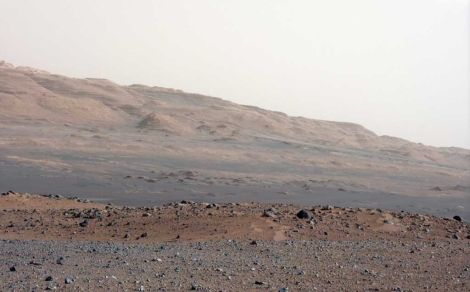 Imagen de Marte tomada por 'Curiosity'. | NASA