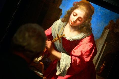 'Santa Práxedes' de Johannes Vermeer. | AFP MÁS FOTOS
