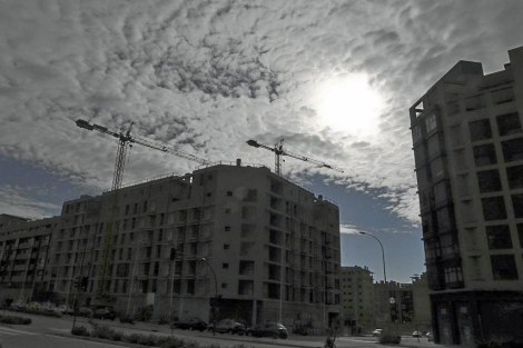 Bloques de pisos en construcción en Madrid. | Alberto Cuéllar