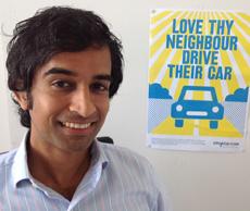 Vinay Gupta, fundador de Whipcar.