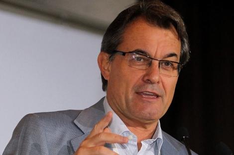 El presidente de la Generalitat, Artur Mas.| Efe/Toni Garriga