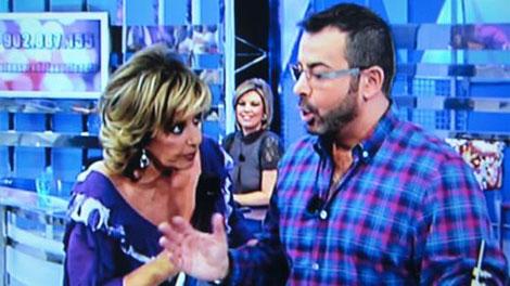 María Teresa Campos y Jorge Javier Vázquez.