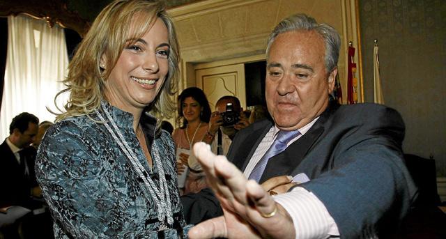 Sonia Castedo y Luis Díaz Alperi, en una imagen de archivo. | Roberto Pérez