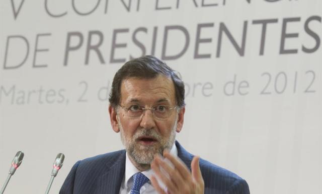 El presidente del Gobierno, Mariano Rajoy. | Alberto Cuellar